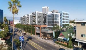 Rendering of the 800 Fairfax project